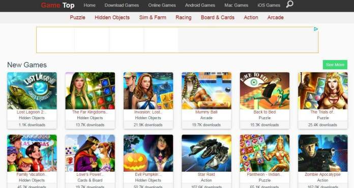 download game websites free pc
